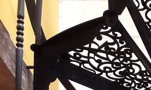Balustre escalier tournée