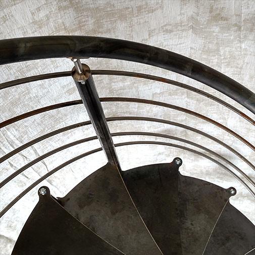 Main courante design d'un escalier colimacon