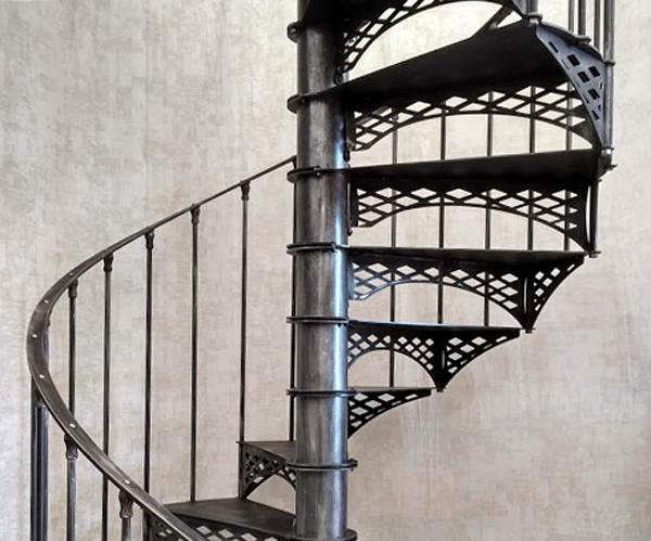 """Escalier gamme """"Indus"""" Eiffel losanges"""