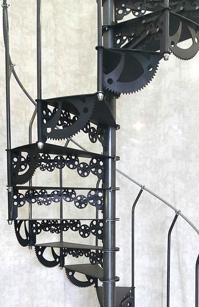 Escalier Steampunk Nautilus
